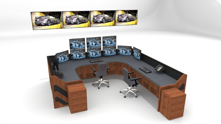 2018 Enterprise Control Room Furniture 27