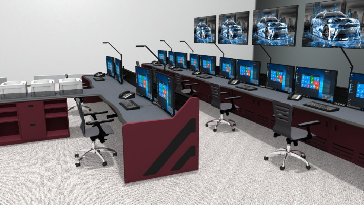 2018 Enterprise Control Room Furniture 33