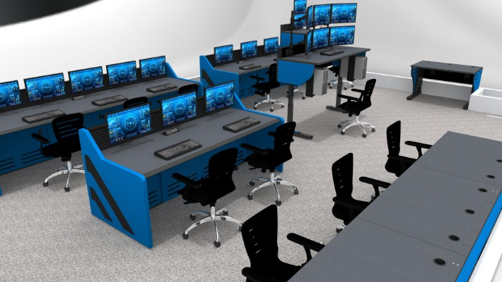 2018 Enterprise Control Room Furniture 34