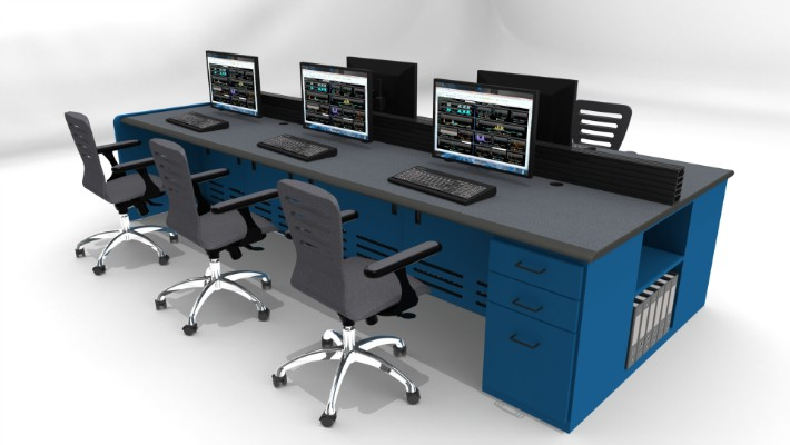 2018 Enterprise Control Room Furniture 39