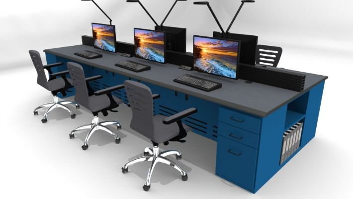 2018 Enterprise Control Room Furniture 42