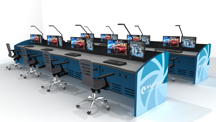 2018 Enterprise Control Room Furniture 46