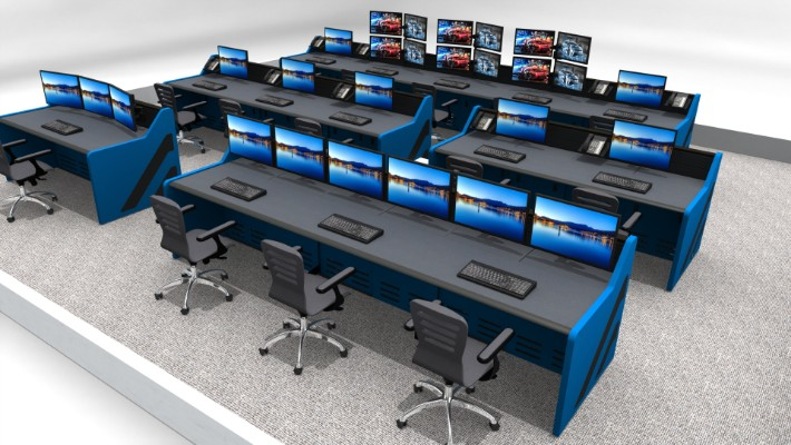 2018 Enterprise Control Room Furniture 49