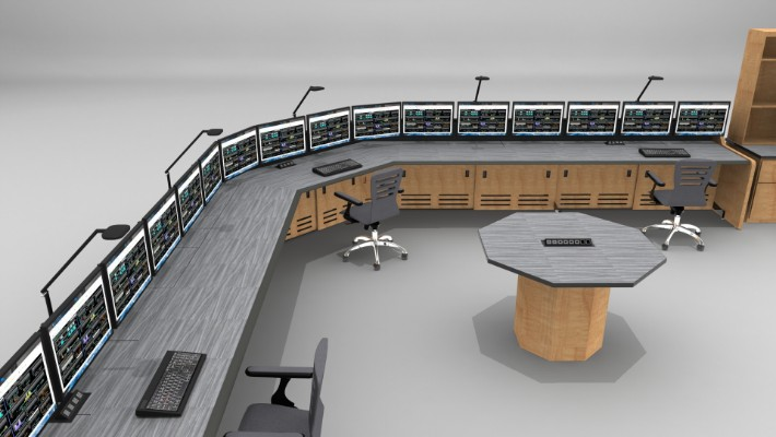 2018 Enterprise Control Room Furniture 51