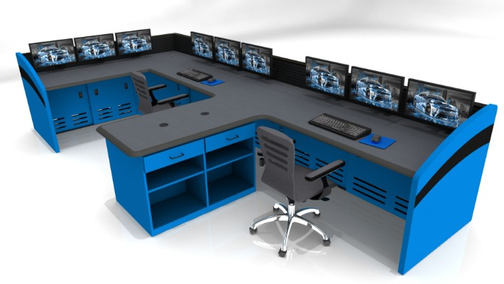 2018 Enterprise Control Room Furniture 53