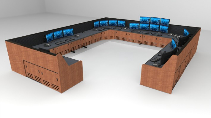2018 Enterprise Control Room Furniture 55