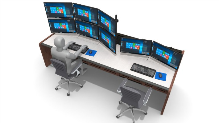 2018 Enterprise Control Room Furniture 57