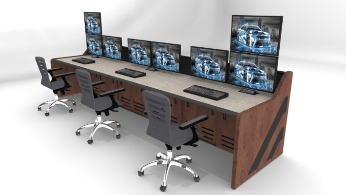 2018 Enterprise Control Room Furniture 58