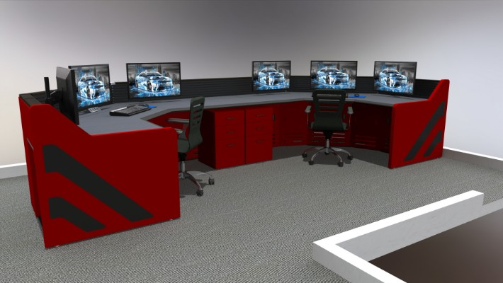 2018 Enterprise Control Room Furniture 59