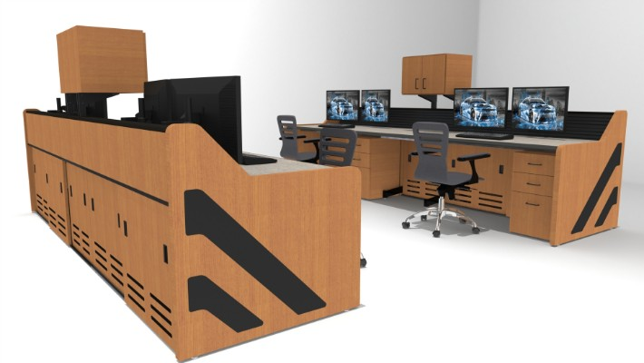2018 Enterprise Control Room Furniture 64