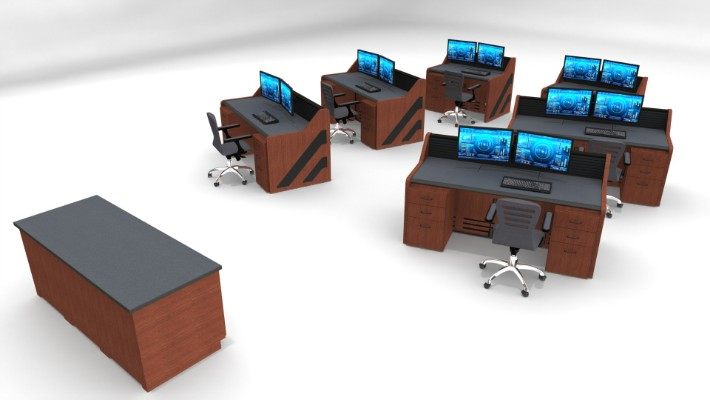 2018 Enterprise Control Room Furniture 9