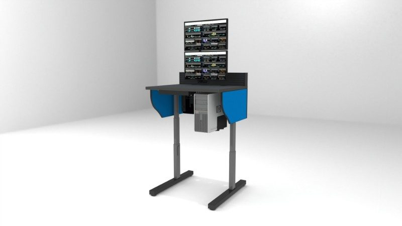 2018 Summit Edge Deluxe Control Room Console Furniture 30