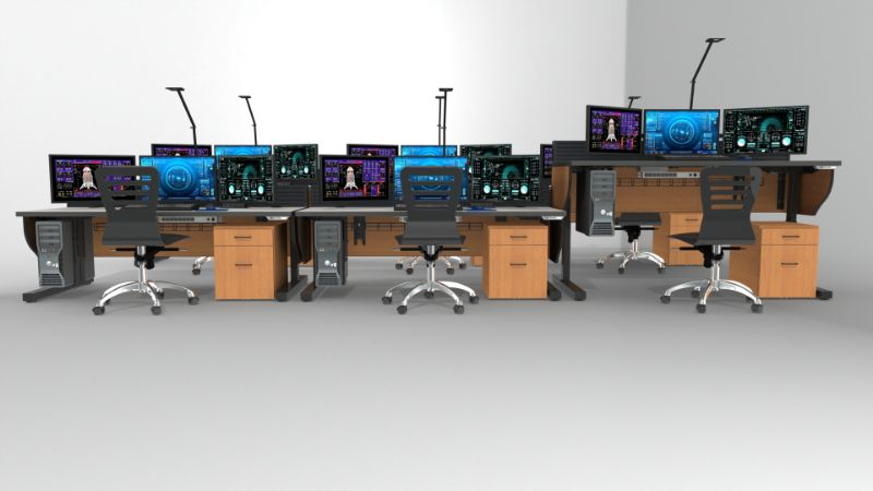 Broadcast Control Room Furniture