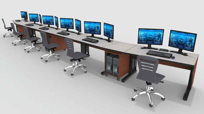 CCTV Control Room Furniture