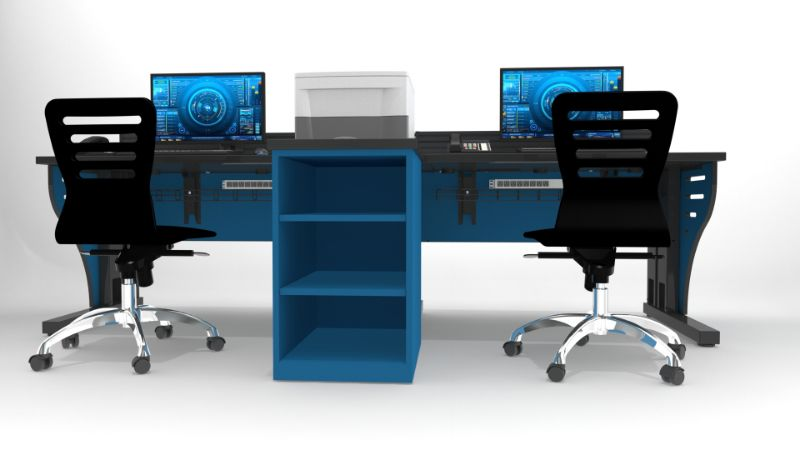 Security Monitor Control Room Furniture