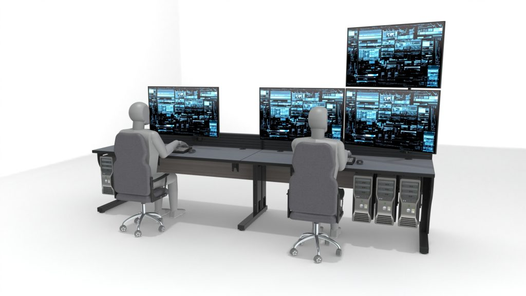 2020 Double Operator Noc Console