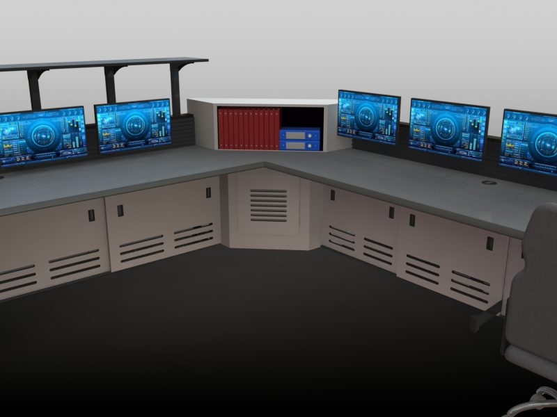 Enterprise Consol Furniture For Control Rooms