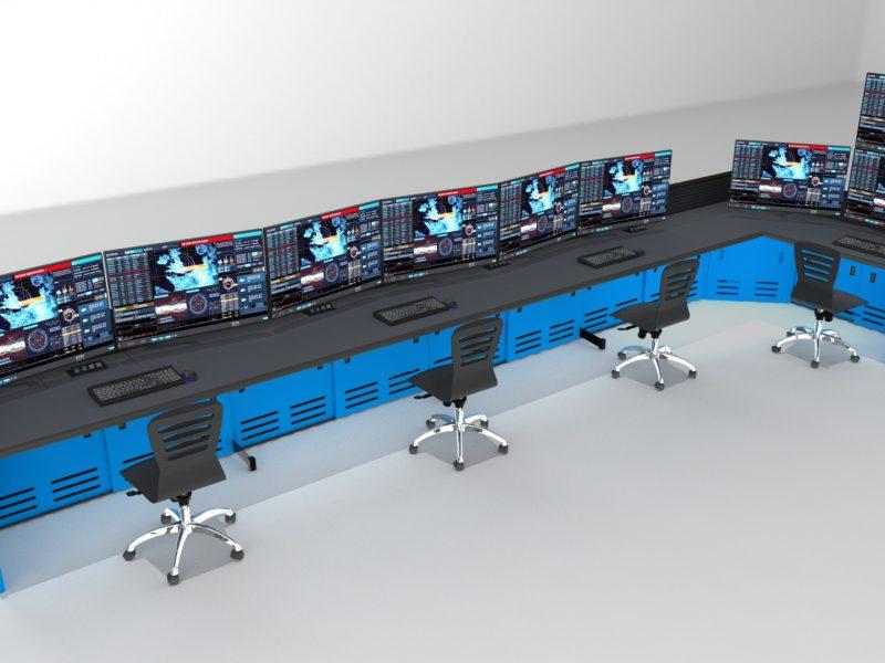 Long Control Room Unit