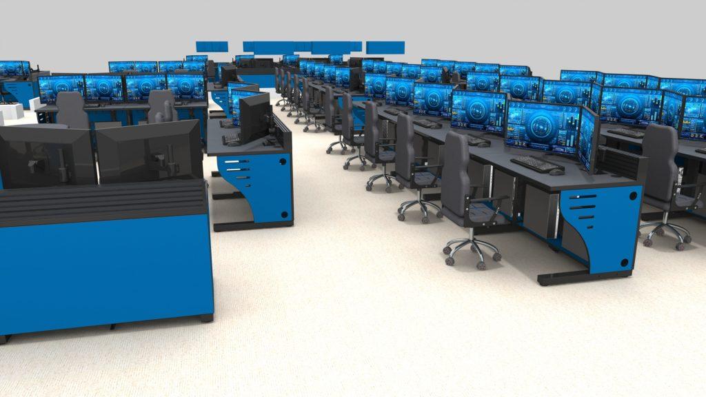 2020 Rows Control Room Consoles