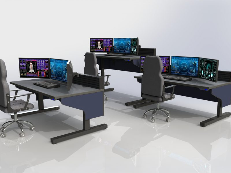 Sit Stand Inracks Edge Consoles