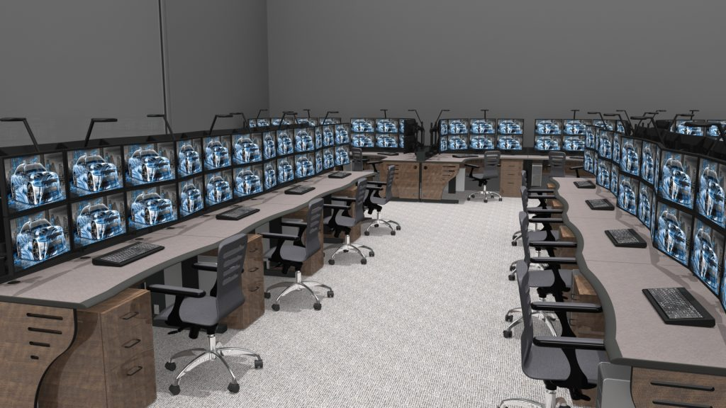 2020 Summit Edge Console For NOC Control Room