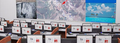 Scada DCS Control Room Design Rendering