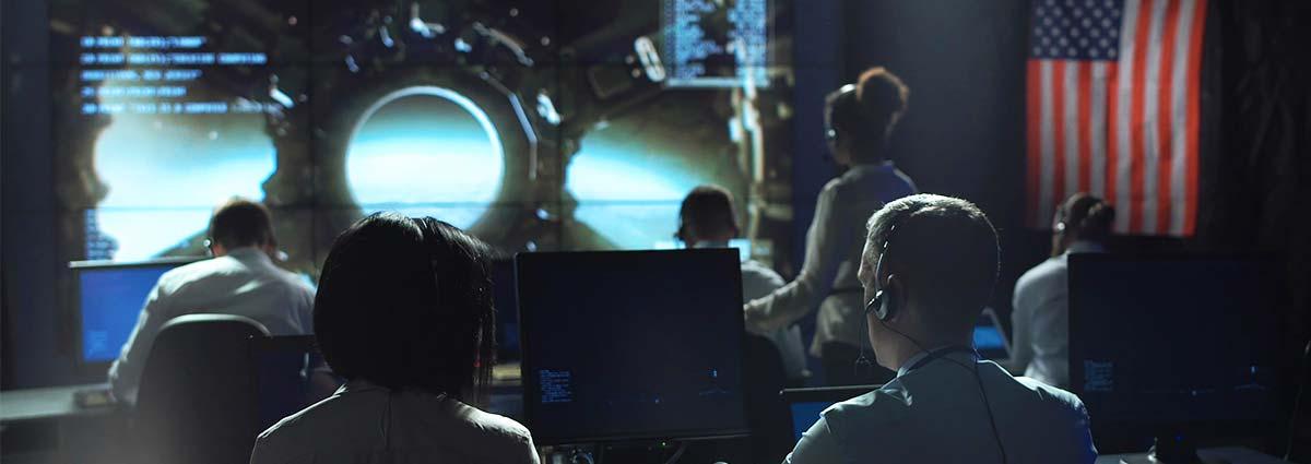 Aerospace-Mission-Control-Center